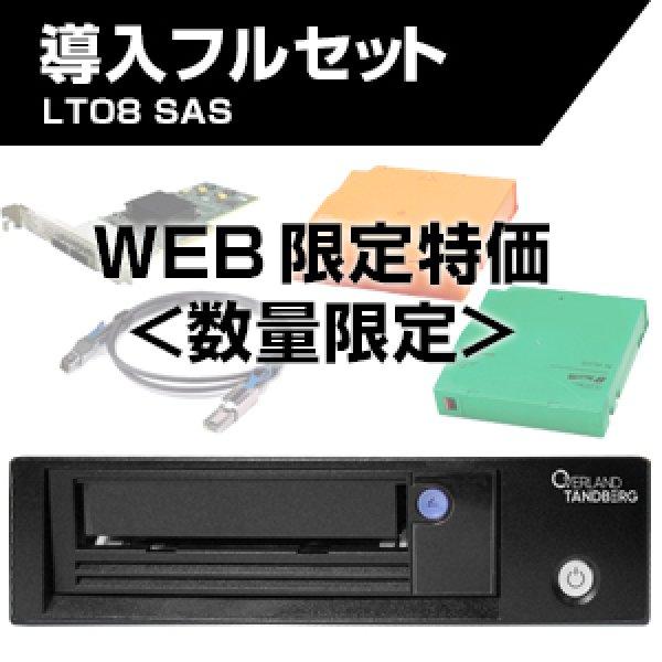 画像1: Tandberg Data LTO8 SAS HHシングルドライブ 導入フルセット TD-LTO8xSA他 (1)