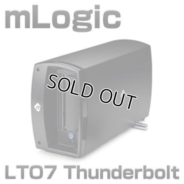 画像1: mLogic mTape Thunderbolt接続 デスクトップ LTO7 テープドライブ (1)