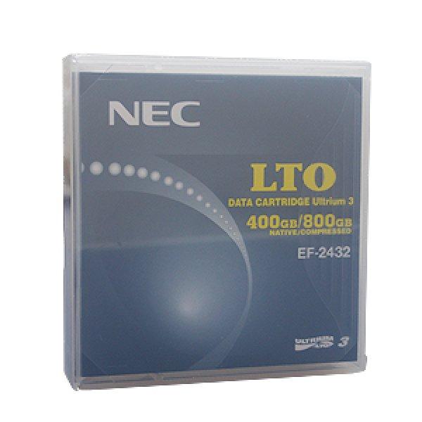 画像1: 【数量割引有】NEC LTOテープ LTO Ultrium3 EF-2432 (1)