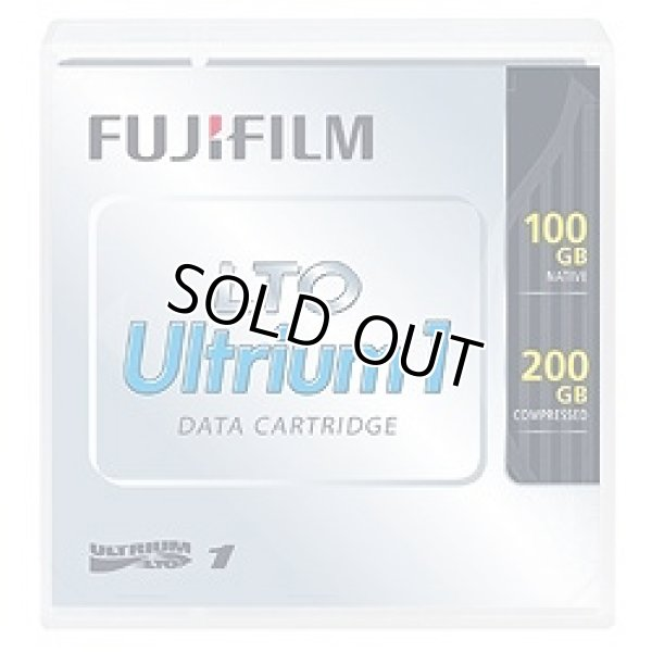 画像1: 富士フイルム LTO Ultrium1 LTO FB UL-1 100G (1)