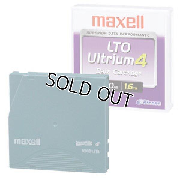 画像1: マクセル LTO Ultrium4 データカートリッジ LTOU4/800 XJ B (1)