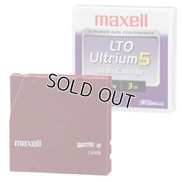 画像1: マクセル LTO Ultrium5 データカートリッジ LTOU5/1500 XJ B (1)