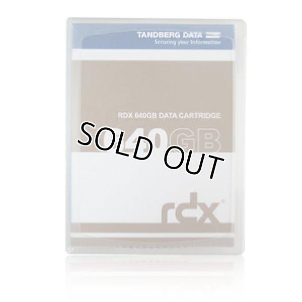 画像1: Tandberg Data RDX QuikStor 640GB カートリッジ 8592 (1)