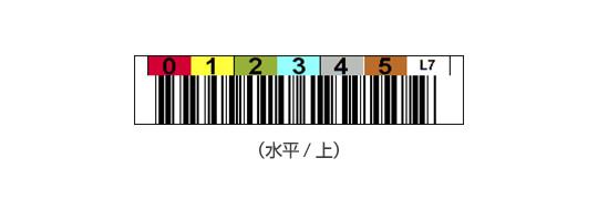 LTOバーコードラベル(水平/上)