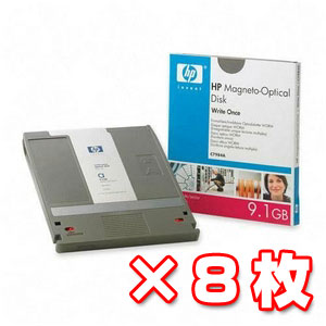 特価 C7984A|HP 5.25型 MO 9.1G...